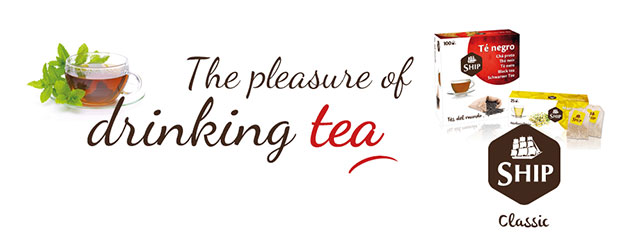The pleasure of drinking tea