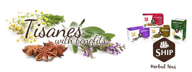 Tisanes with benefits