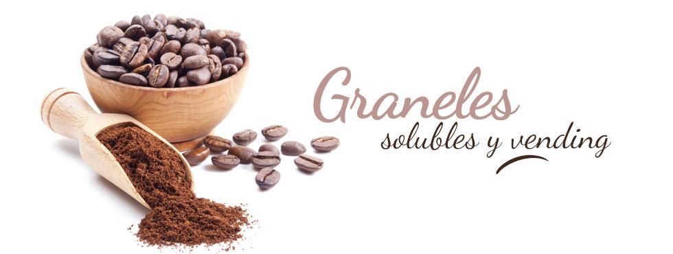 Graneles, solubles y vending