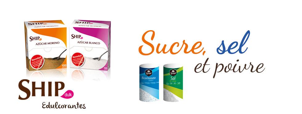 Sucre, sel et poivre